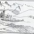 Willenbergova kresba zachytávajúca Banskú Bystricu