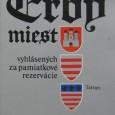 Erby miest vyhlásených za mestské pamiatkové rezervácie, Jozef Novák, Tatran 1986