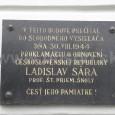 pamätná tabuľa na budove Evanjelického spolku na Hornej ulici č. 21