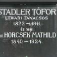 Náhrobná doska hrobu Teofila Stadlera.