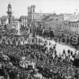 oslavy 1. výročia SNP na námestí