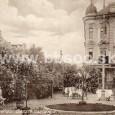 v parku pred Hungáriou okolo roku 1915