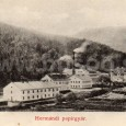 Harmanecká papiereň okolo roku 1900