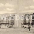 fontána na Hlavnom námestí krátko po dokončení