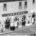 prízemie barbakanu s lekárňou - 1929