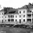 budova s dôstojnickými bytmi sa nachádzala v miestach pod dnešným pamätníkom SNP (ulica ČSA 1 - 3)