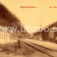 pôvodná budova železničnej stanice sv. Jána v roku 1905 (dnes je v týchto miestach železničná stanica Banská Bystrica mesto)