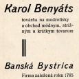 dobová reklama z roku 1928