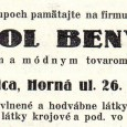dobová reklama z roku 1938