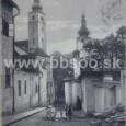 Bakossova ulica okolo 1905