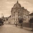 budova veľkoobchodu je na zábere vpravo (A. Galamboš bol v rokoch 1927 - 1936 vlastníkom Hudecovej vily na Skuteckého ulici)
