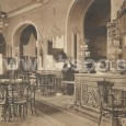 pôvodný interiér kaviarne Hungária