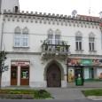 dom na Hornej ulici č. 3 (pôvodne Horná č.7), predajňa A. Žabku bola umiestnená v pravej časti prízemia.