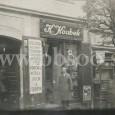 obchod miešaným tovarom Karola Koubeka v dome č. 9 v Kapitulskej ulici