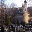 pohľad na cintorín zo severu