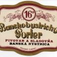 ukážka etikiet z banskobystrického pivovaru