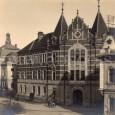 budova štátnej chlapčenskej meštianskej školy (okolo roku 1925)