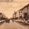 celkový záber na Skuteckého ulicu (okolo roku 1910)