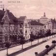 pohľad na Skuteckého ulicu z Hudecovej vily (okolo roku 1910)