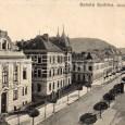 pohľad na Skuteckého ulicu z budovy krajského súdu