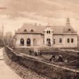 v rokoch 1904 - 1905 mesto postavilo budovu kúpeľov (v roku 1929 sa dostali do vlastníctva Banskobystrickej kúpeľnej účastinárskej spoločnosti)