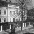 pohľad na areál mestskej pešej kasárne (okolo roku 1925)
