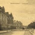 celkový pohľad na Skuteckého ulicu (okolo roku 1910)