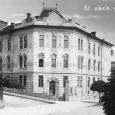 budova štátnej obchodnej akadémie (okolo roku 1925)