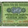 bankovka z roku 1953 (lícová strana)