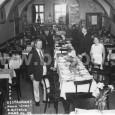 reštaurácia Pavla Tótha na Dolnej ulici č. 17 - rok 1933 (dnes je v týchto priestoroch banková hala VÚB)