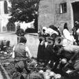 trh na Hornom námestí v roku 1928