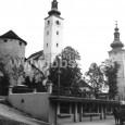 novopostavená tržnica v roku 1943 (svojmu účelu slúžila do roku 1996, keď ju nahradila súčasná budova tržnice)