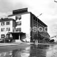 budova hlavnej pošty postavená podľa projektu Ferdinanda Silbersteina - Silvana v roku 1951