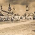 námestie okolo roku 1925