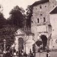 kaplnka Sv. Jána Nepomuckého pred barbakanom, asanovaná bola v roku 1902.