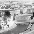 celkový záber na horný most