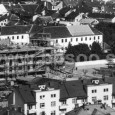 výstavba bytového domu Banskobystrickej sídelnej kapituly na rohu Kapitulskej a Cikkerovej (rok 1936)