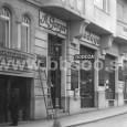 záber na obchod z roku 1925