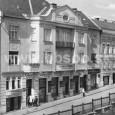 dom v Národnej ulici č. 8 v roku 1924 (predajňa sa nachádzala na prízemí)