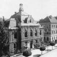 budova Obchodnej a priemyselnej komory dokončená v roku 1905 (projektoval budapeštiansky architekt Artúr Sebestyén)