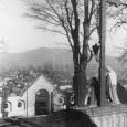 súsošie na nádvorí kalvárie (okolo roku 1925)
