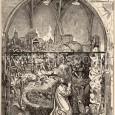 súsošie Kristus na Olivovej hore na kresbe z roku 1878