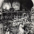 súsošie Kristus na Olivovej hore (farský kostol - okolo roku 1910)