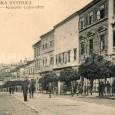 Dolná ulica okolo roku 1915