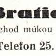 dobová reklama (rok 1938)