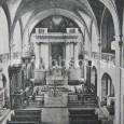 interiér kostola sv. Františka Xaverského (okolo roku 1905)