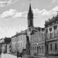 """komplex budov nazývaných """"kláštor"""" okolo roku 1905"""