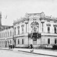 """komplex budov nazývaných """"kláštor"""" okolo roku 1898"""