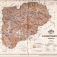 mapa Zvolenskej župy z roku 1897