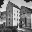Matejov dom a Slovenský kostol (rok 1925)